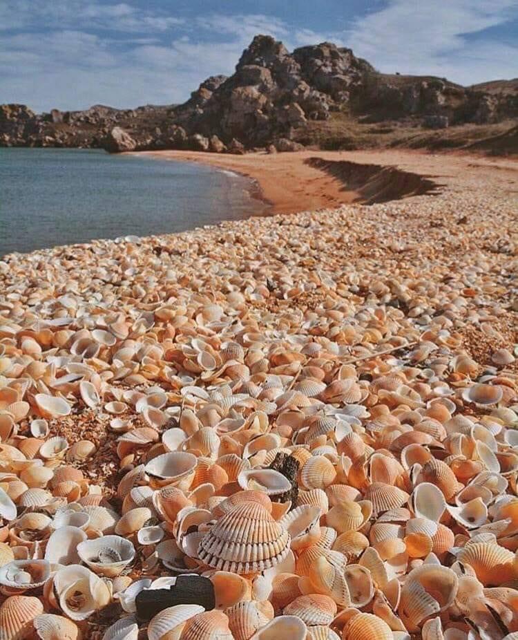 Pláž po bouřce – krásné foto